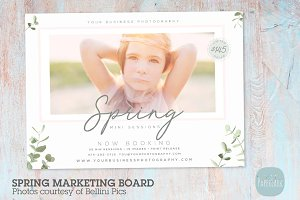 IE026 Spring Marketing Board