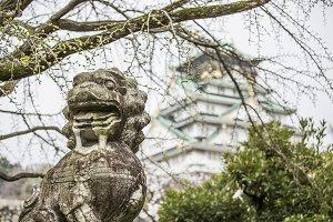 Komainu 'Lion-Dog' Osaka