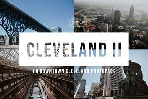 Cleveland Downtown Stock Photo Pack