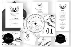 Black & White Wedding Suite