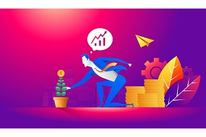 Investment and finance growth
