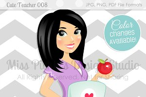 Cute Teacher 008, Health Blogger