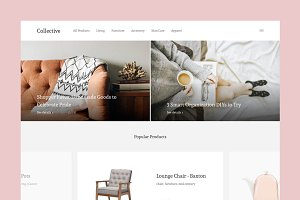 Collective: Blogger Theme for Store