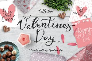 Valentines day - design kit
