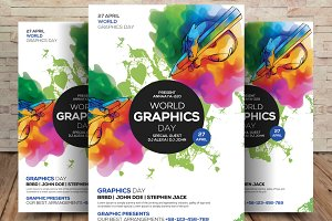 World Graphics Day Card