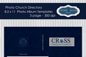 8.5x11Church Photo Directory Templat