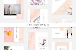 Rosy Instagram Pack