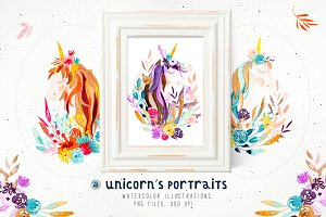 Unicorn's Portraits
