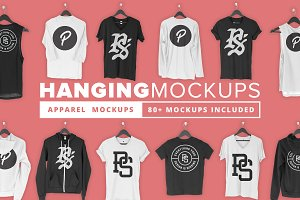 Hanging Apparel Mockup Bundle