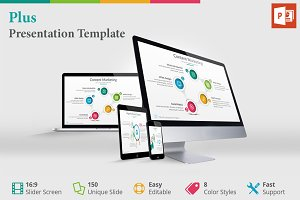 Plus - Presentation Template
