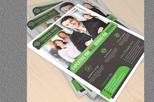 Corporate Flyer Template Vol 1001