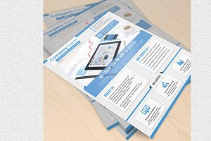 Corporate Flyer Template Vol 10092