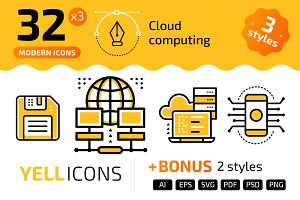 +32 Cloud computing : : YELLICONS