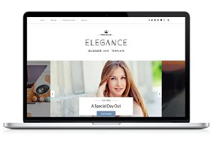 Elegance Clean Blogger Template