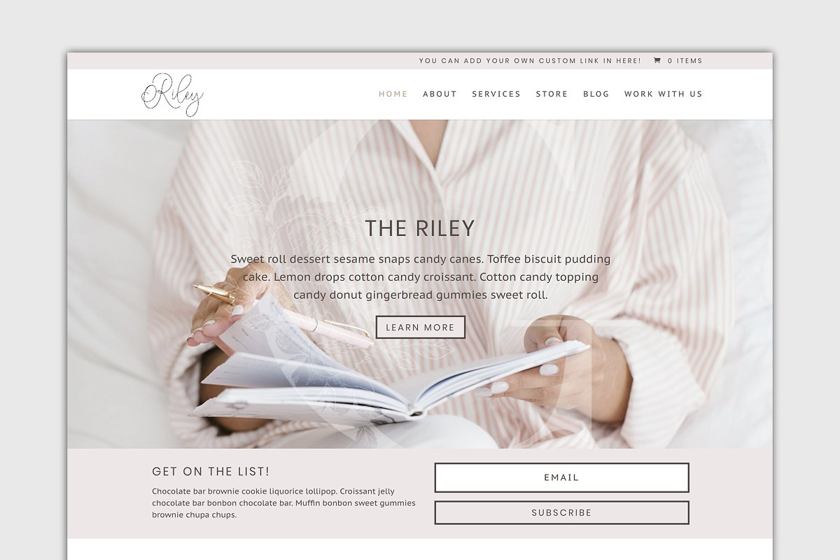The Riley-Divi Child Wordpress Theme