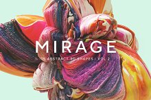 Mirage, Vol. 2: Abstract 3D Shapes by  in Textures