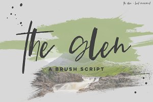 The Glen Brush Script
