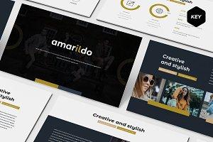 Amarildo - Keynote Template
