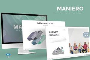 Maniero - Keynote Template
