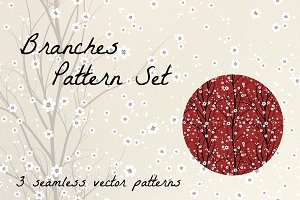 Branches - Seamless Vector Set