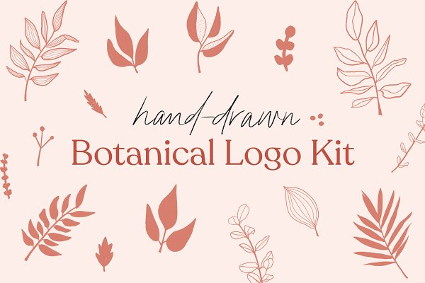 Illustrations - 60+ Botanical Logo Elements