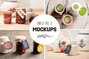 Label Mockups Vol. 3