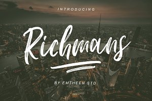 Richmans Font