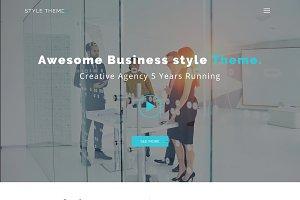 Business Website PSD