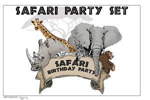 Safari Party Set