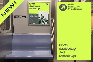 NYC Subway Ad Mockup
