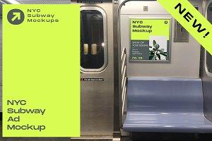 NYC Subway Ad Mockup