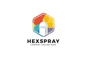 Hexa Spray Can Logo