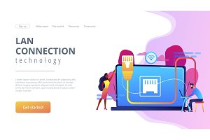 concept landing page.