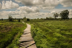 Hiking in Belgium...