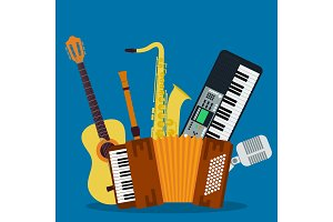 Concept of concert musical