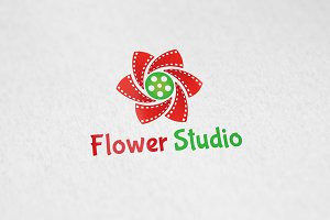 Flower Studio - Logo Template