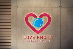 Love Photo Logo