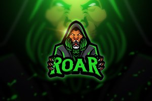 Roar - Mascot & Esport Logo