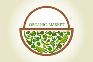 Organic Market - background