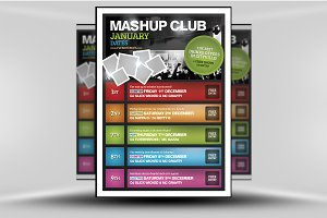 Mashup Club Poster Template