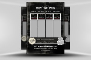 Indie Gig Flyer Poster Template