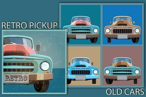 Retro Pickup mini set