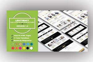 LEGITIMACY - Legal Attorney Template