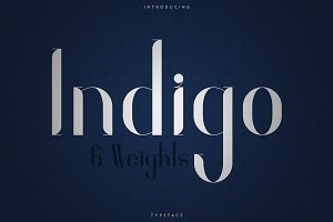 Indigo Typeface - 6 Weights