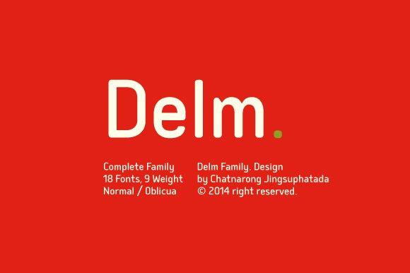 Delm (Update v1.1) - Sans Serif