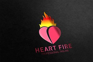 Heart Fire Logo