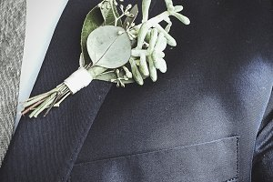 Boutonniere Pinned