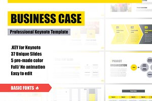 Business Case Keynote Template