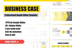 Business Case Google Slides Template