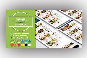 TABLOID - Magazine & News Template